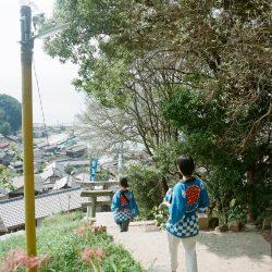 男木島秋祭りの写真